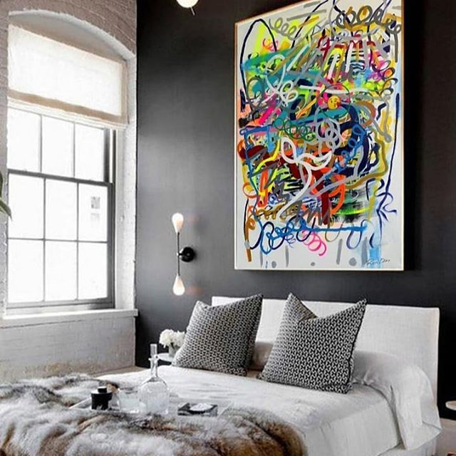Finally my premium collection is now available on museum canvas prints. #ronderiart #modernart