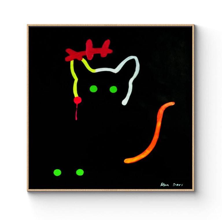 cat-art-painting