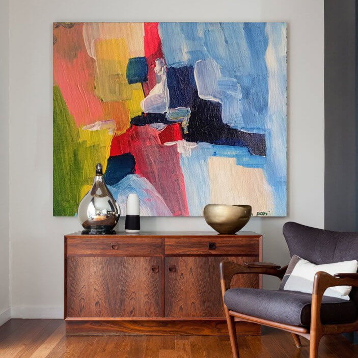 colorful abstract painting 3