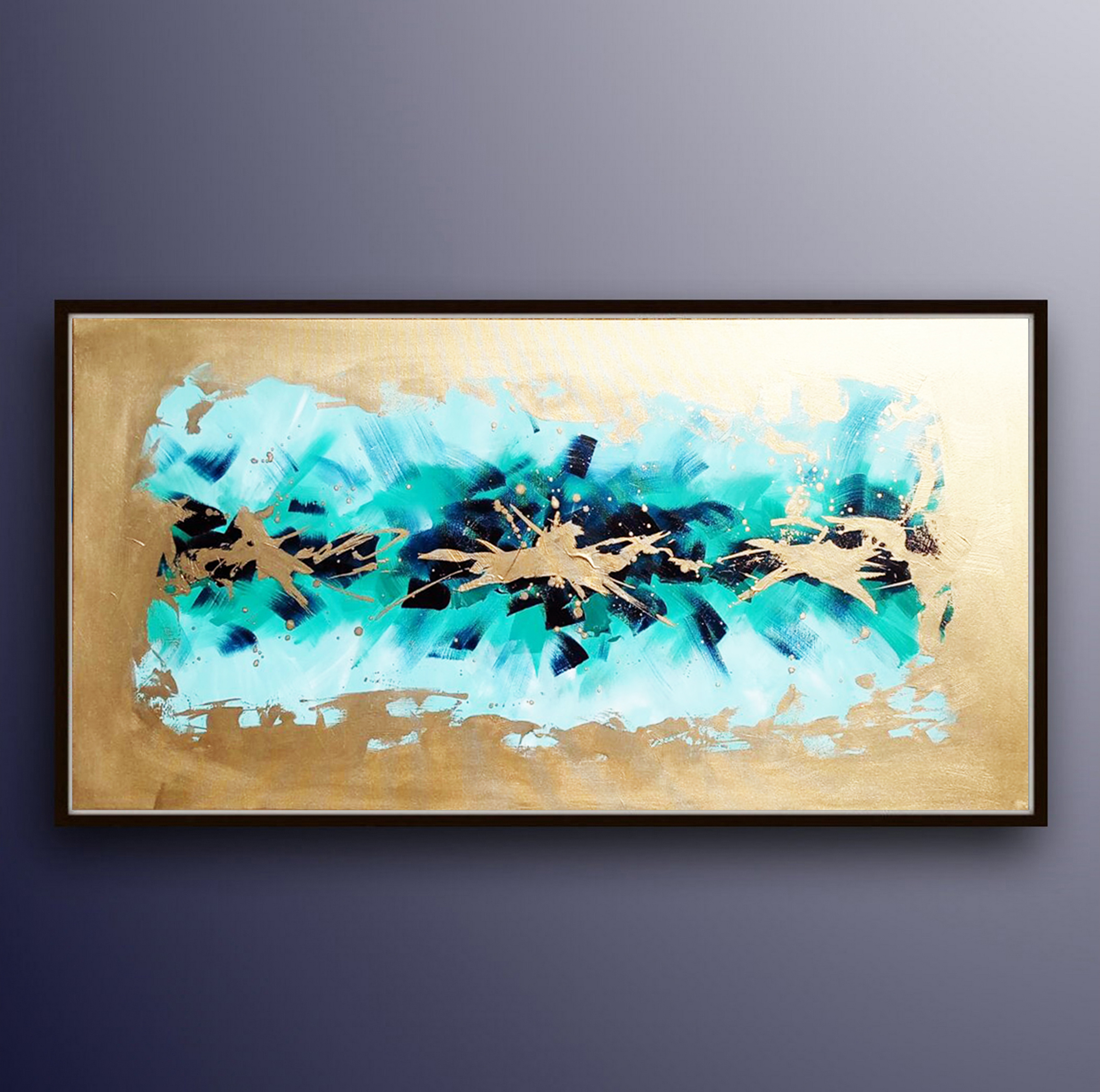 gold-blue-painting-abstract-ron-deri