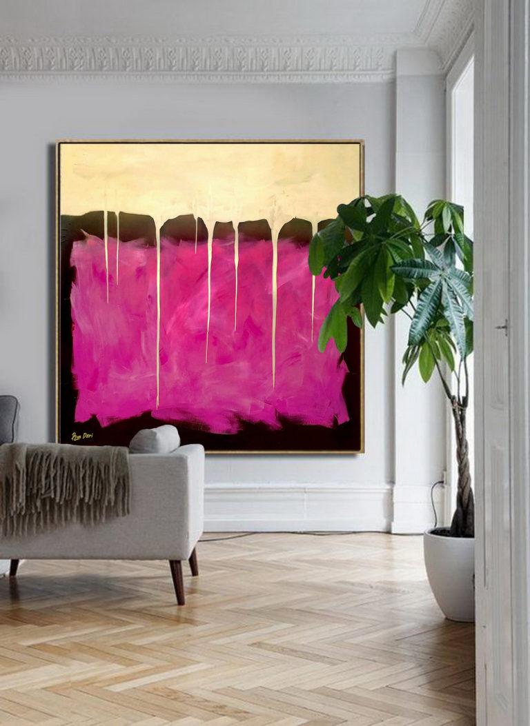 gold-painting-modern-abstract-art-ron-deri