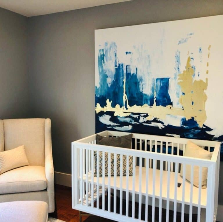 nursery decor art painting