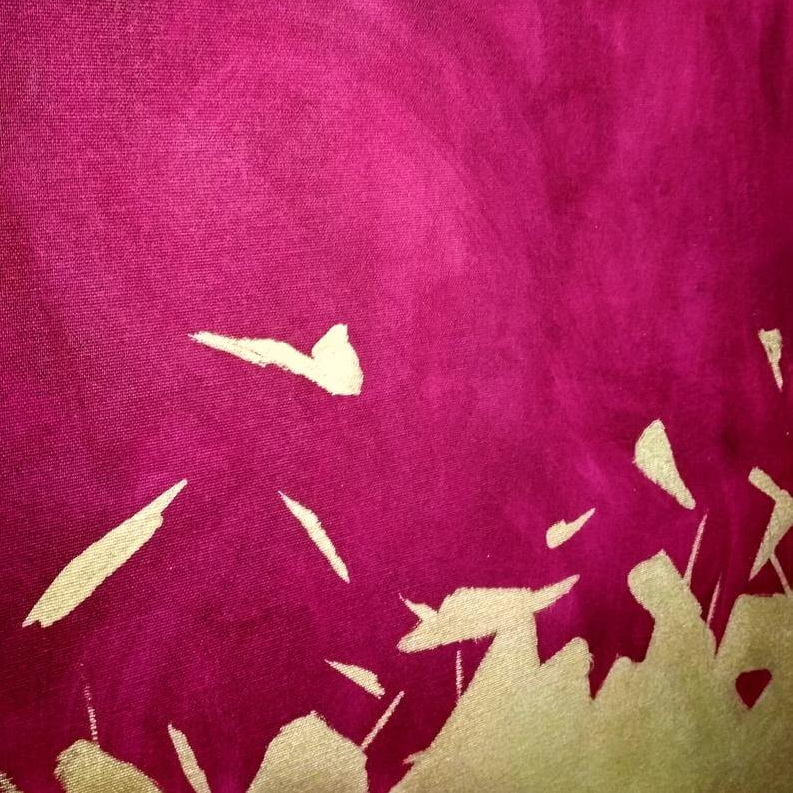large purple gold painting 8