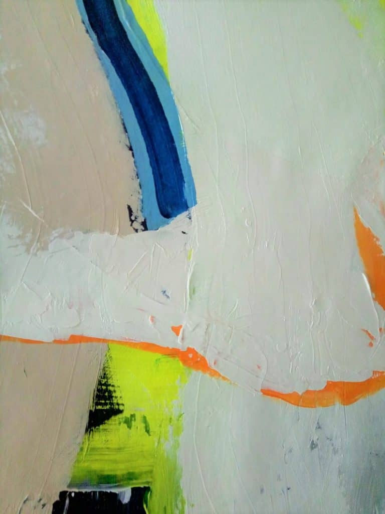 Abstract painting closeup