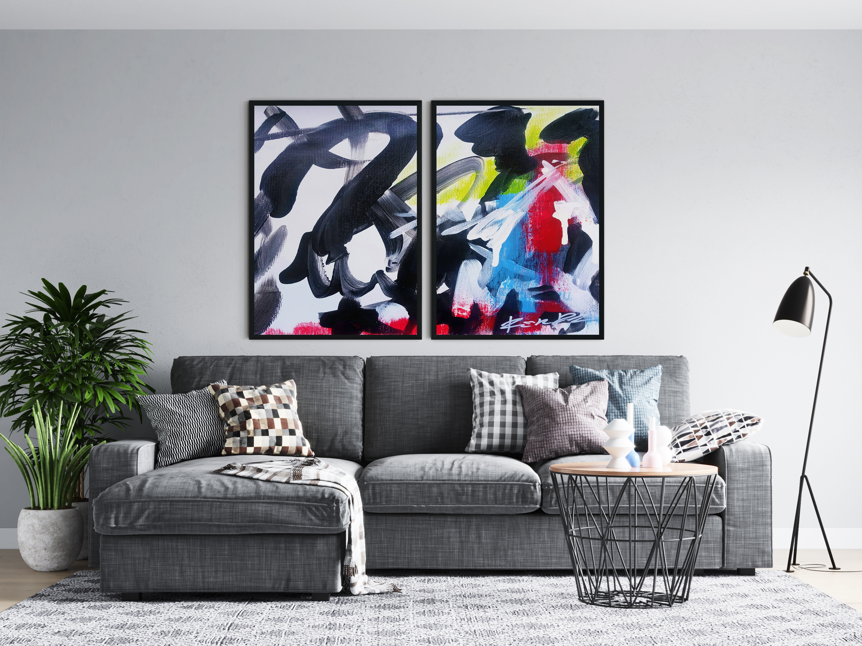 grafity-paintings-set-of-2-art-ron-deri