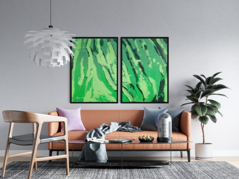 green-abstract-paintings-ron-deri