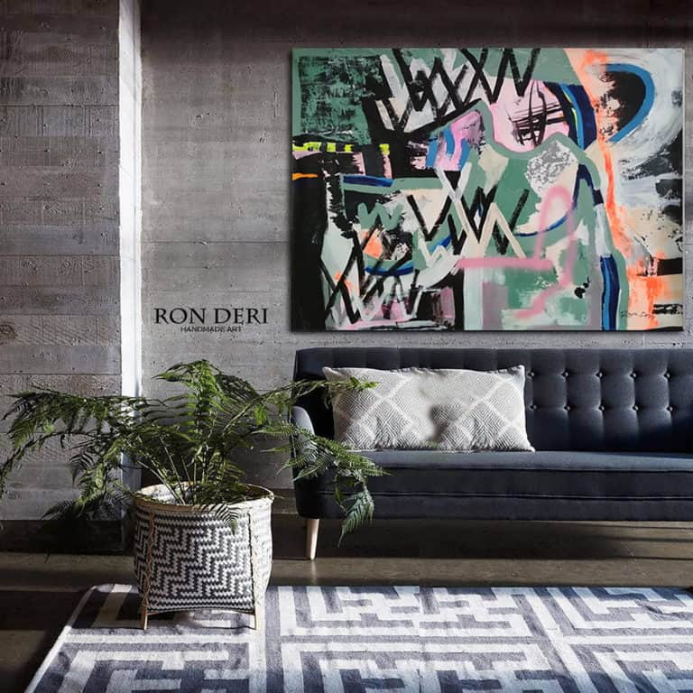 large painting abstract