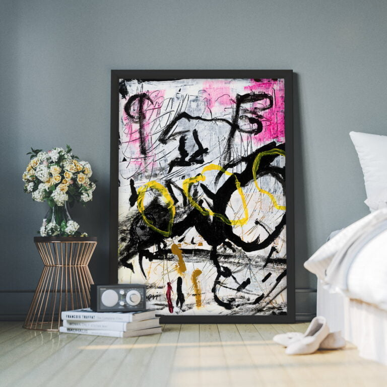 contemporary wall art on canvas for home decor by ron deri