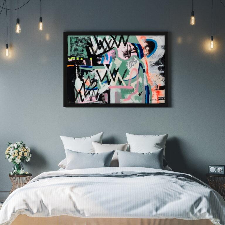 large wall art canvas print ron deri