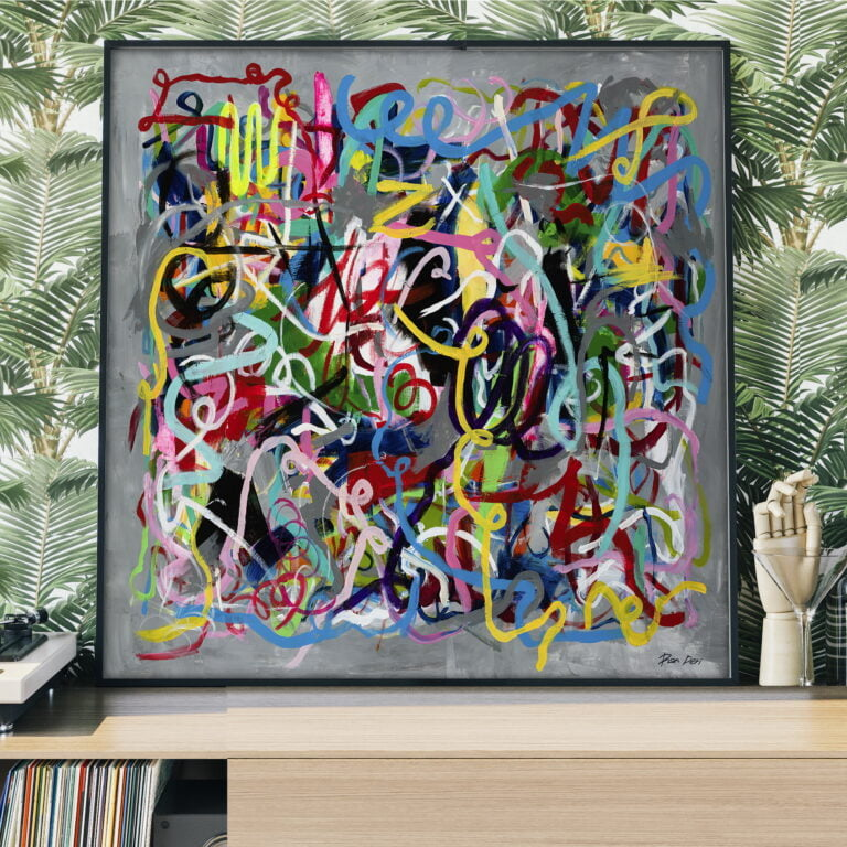 colorful modern art for home decor by ron deri