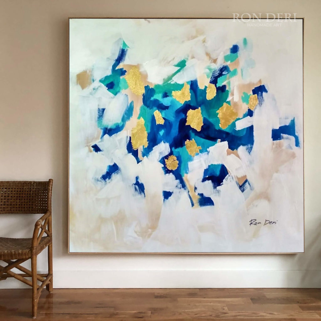 large wall art abstract painting