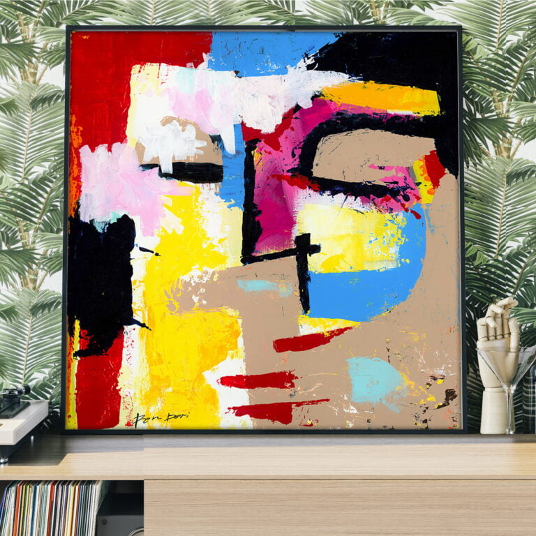 Modern abstract art print for sale by Ron Deri