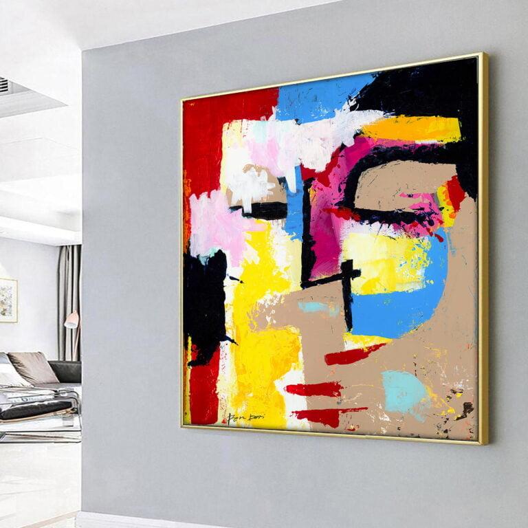 2020 abstract art best seller - Disturbia by Ron Deri