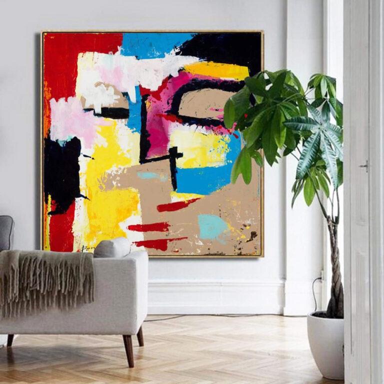 disturbia-print-modern-art-painting-print-canvas-wall-art-face-abstract-fine-art-print-2