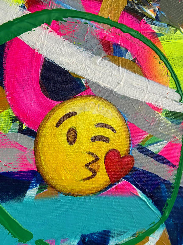 emoji-art-painting-abstract-colorful-art