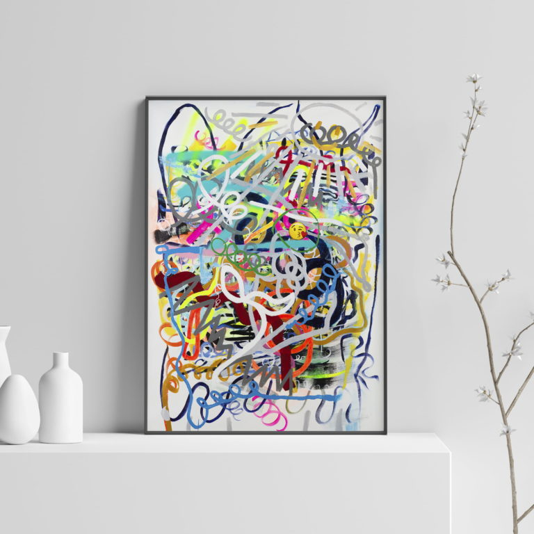 social-abstract-art-print-colorful-lines