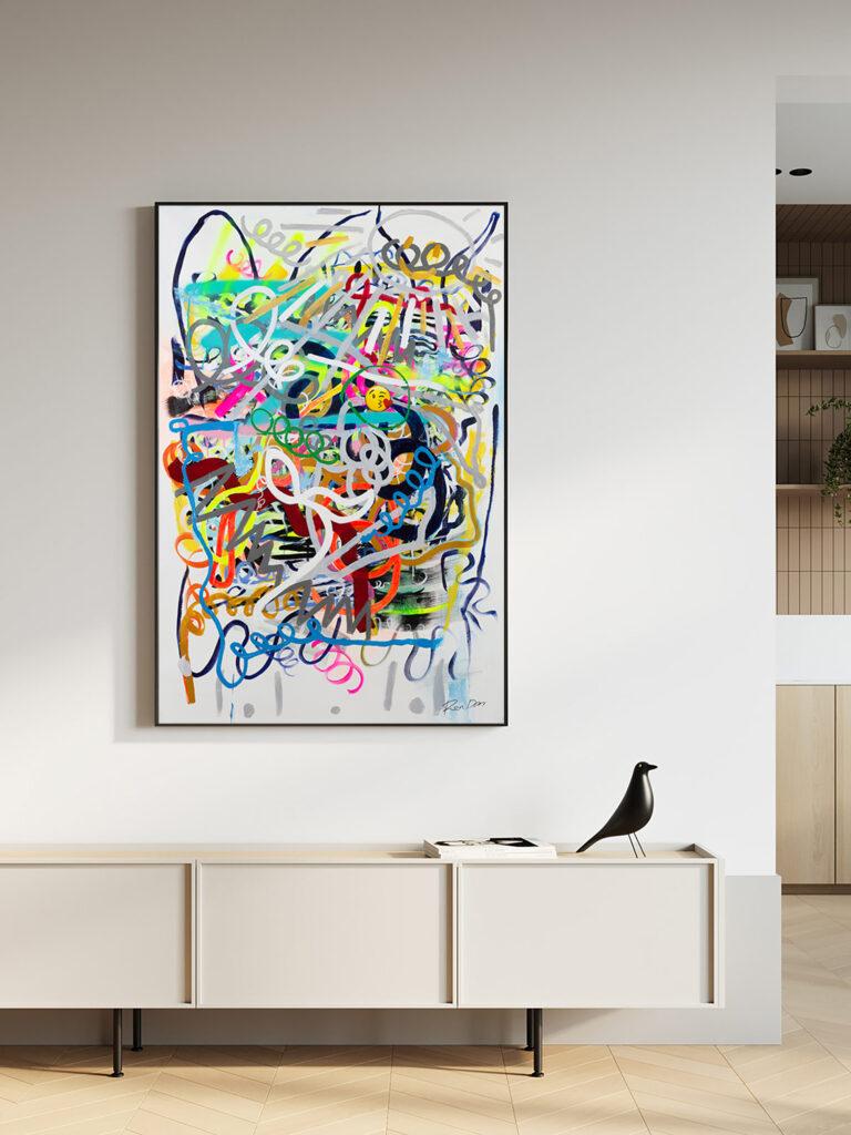social-emoji-modern-contemporary-art-abstract-painting