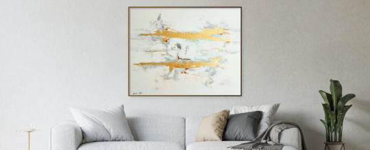 Home organization & abstract art go together hand in hand