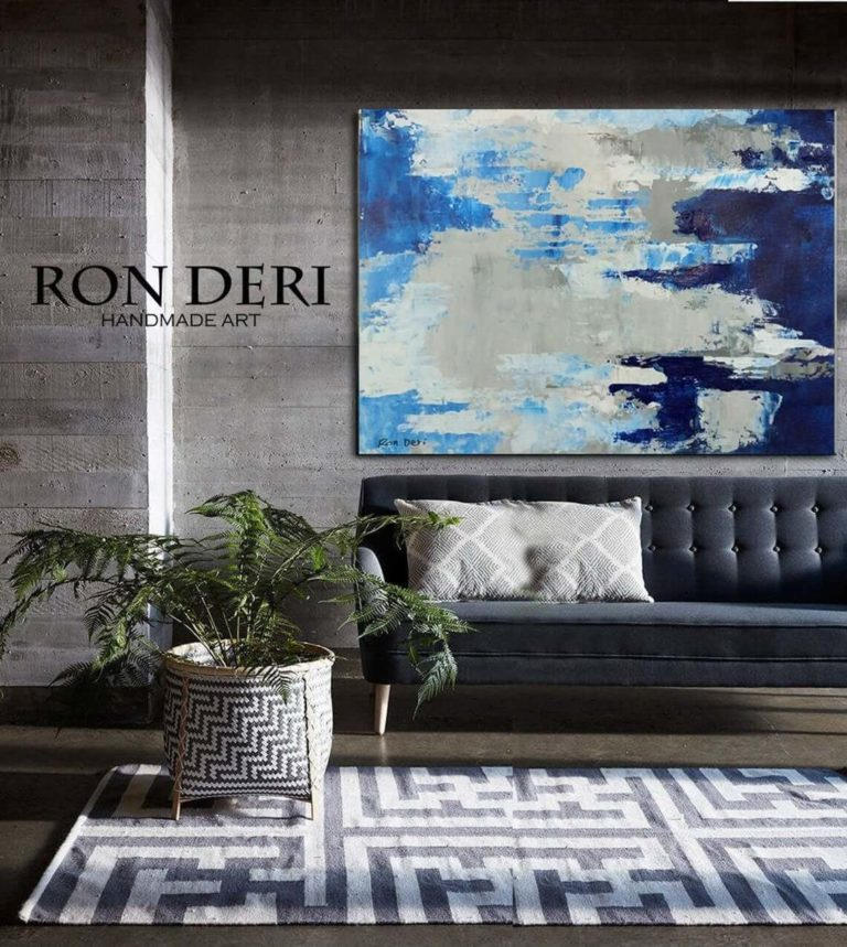 Sky Pattern - Print Fine Art Print, Painting Print, Abstract Art