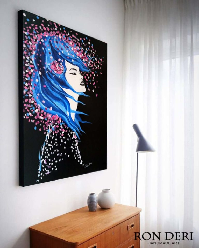 woman_face_painting_print_canvas_artwork_by_ron_deri-1