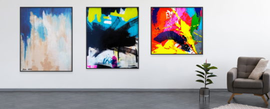 Buying abstract art as a gift - tips and insights
