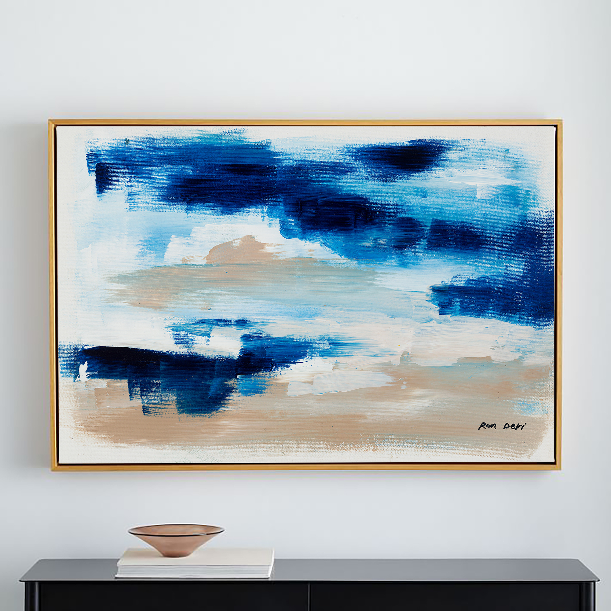 blue-abstract-art-painting-on-canvas