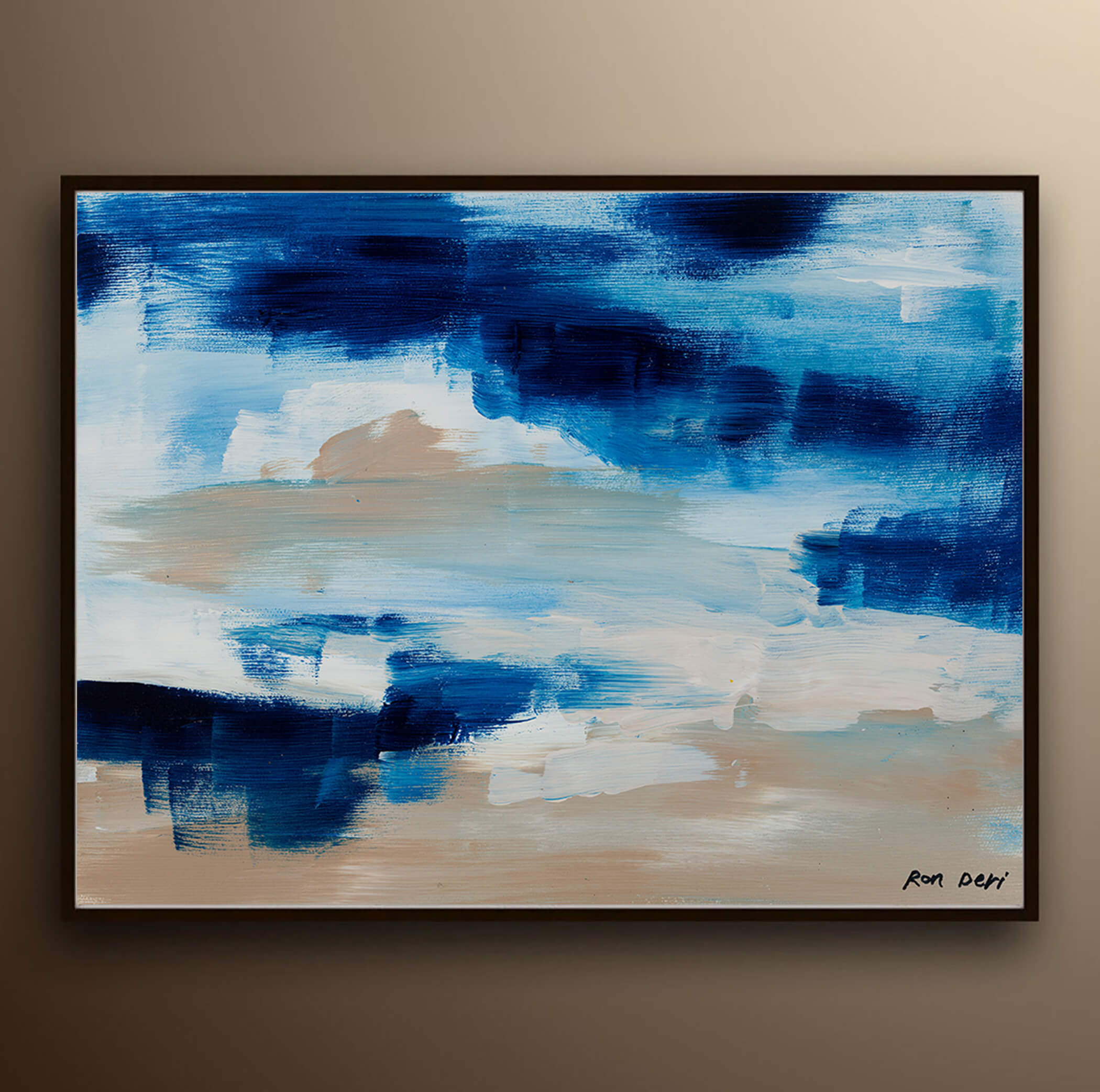 blue_abstract_painting_print_canvas_wall_art_ron_deri