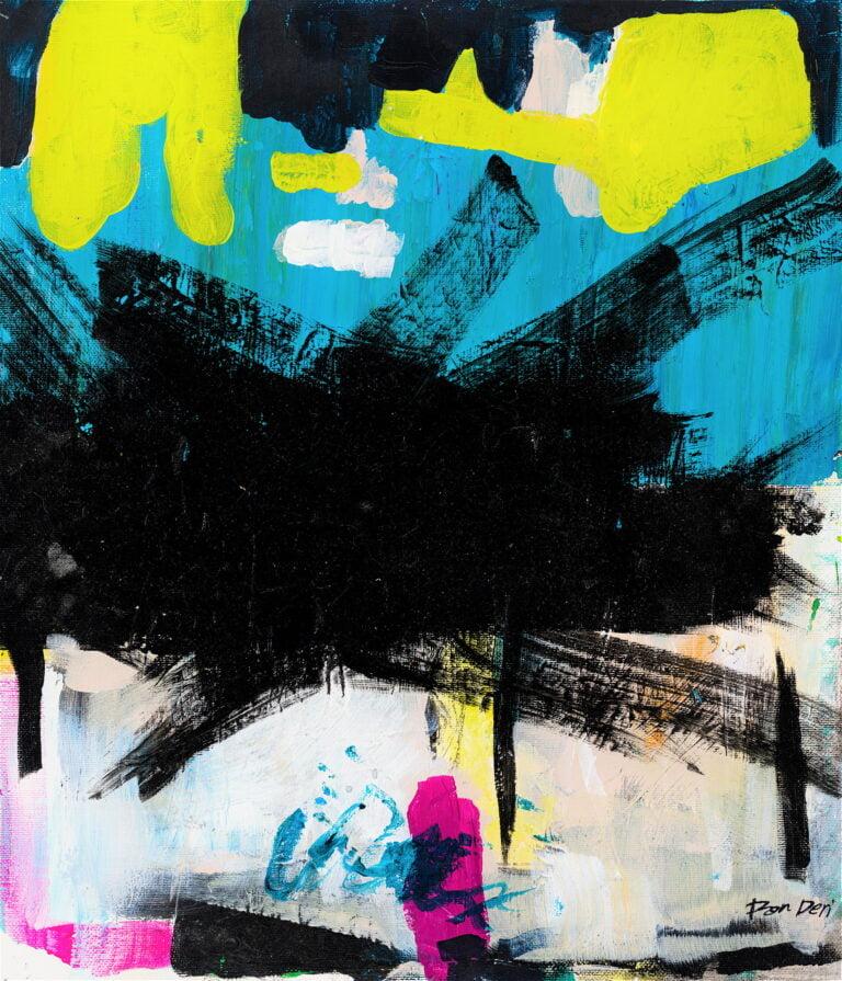 loft coloful abstract strokes paint splash