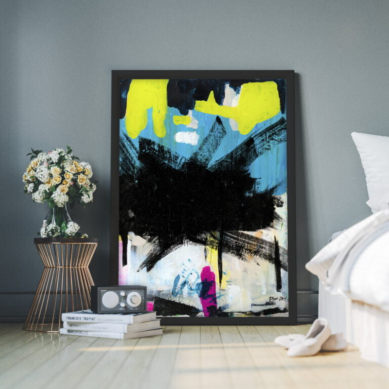 large wall art on canvas by ron deri