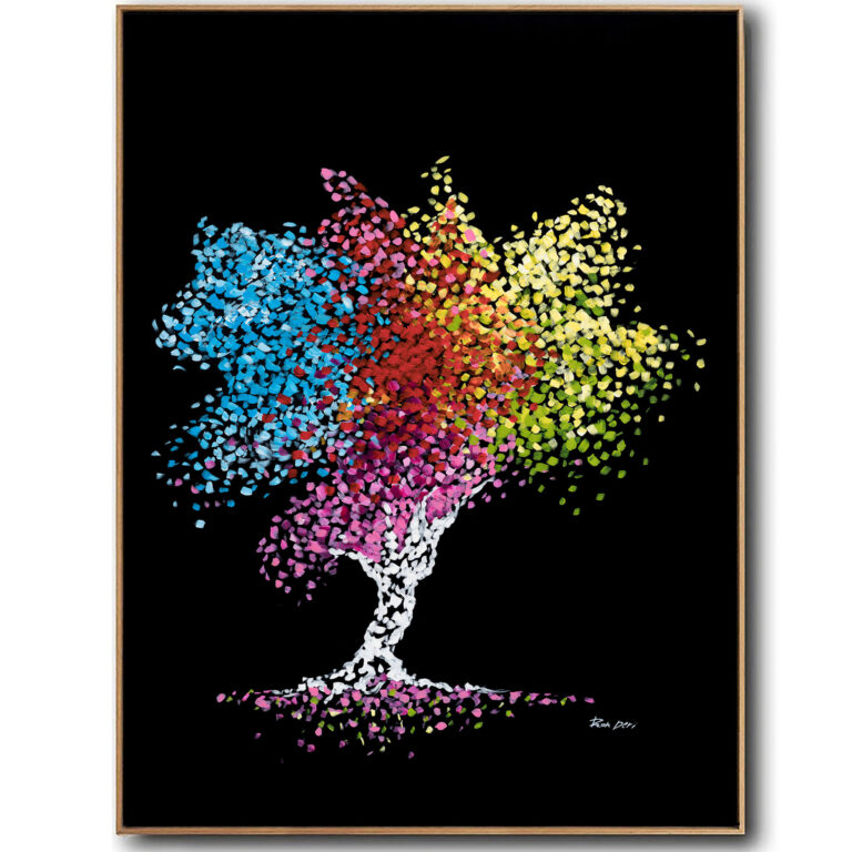 tree_of_life_abstrct_art_canvas_print_moder_art_ron_deri