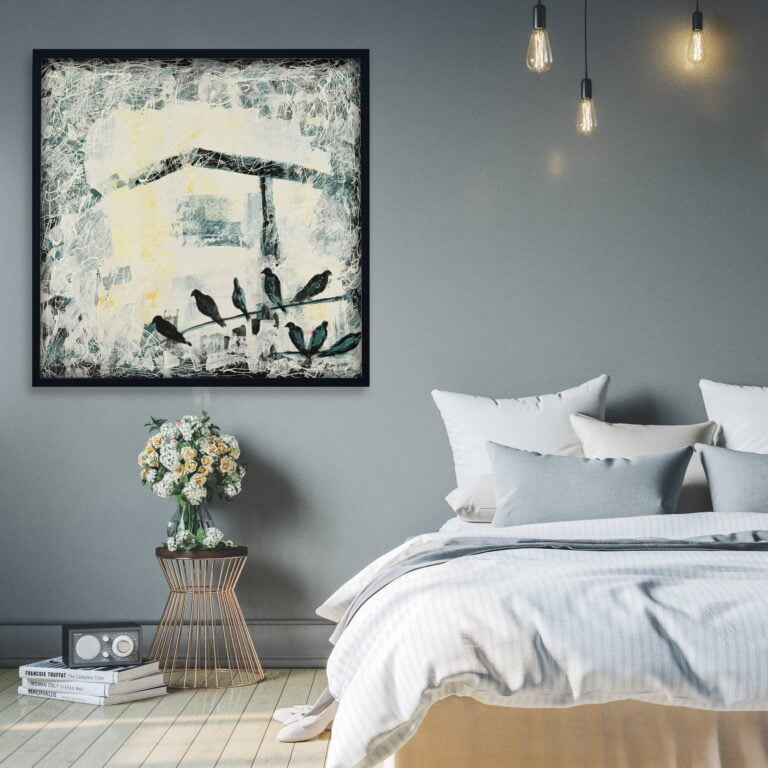 wall art for home decor, nature, soothing tones by ron deri