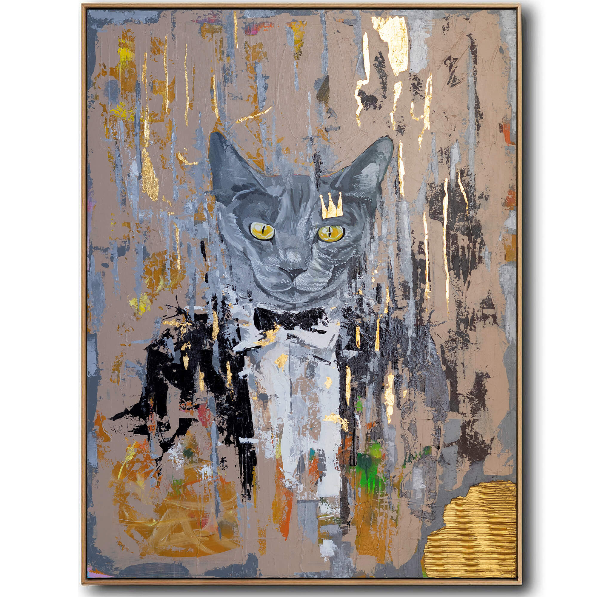 british_cat_painting_abstract_canvas_print_ron_deri