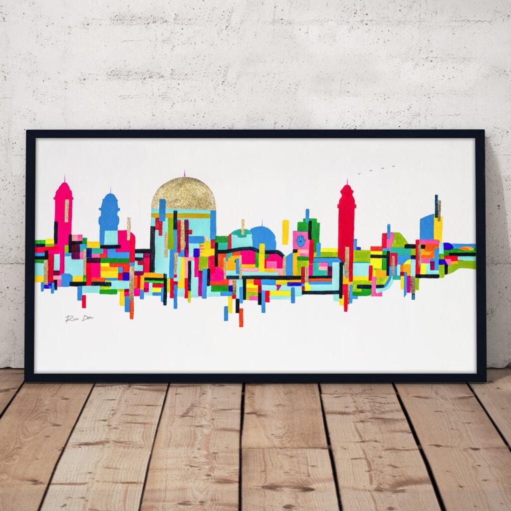 jerusalem-city-of-gold-god-abstract-skyline-ron-deri-1