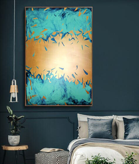 gold_blue_mint_abstract_art_painting_on_canvas_large_wall_art_ron_deri