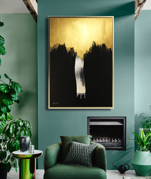 minimalist_gold_black_art_abstract_art_painting_on_canvas_large_wall_art_ron_deri