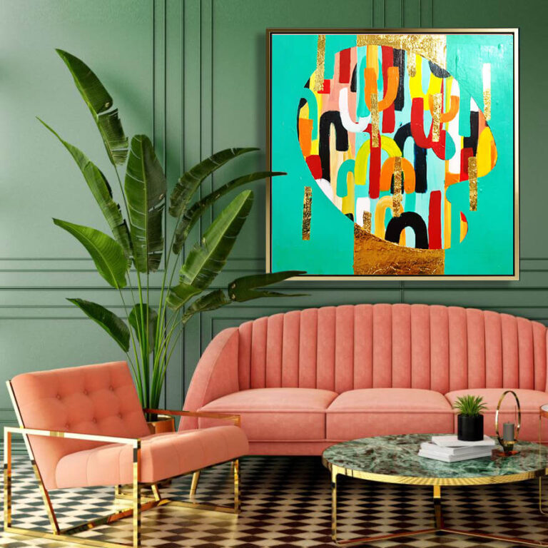 modern_gold_green_mint_abstract_art_painting_on_canvas_large_wall_art_ron_deri