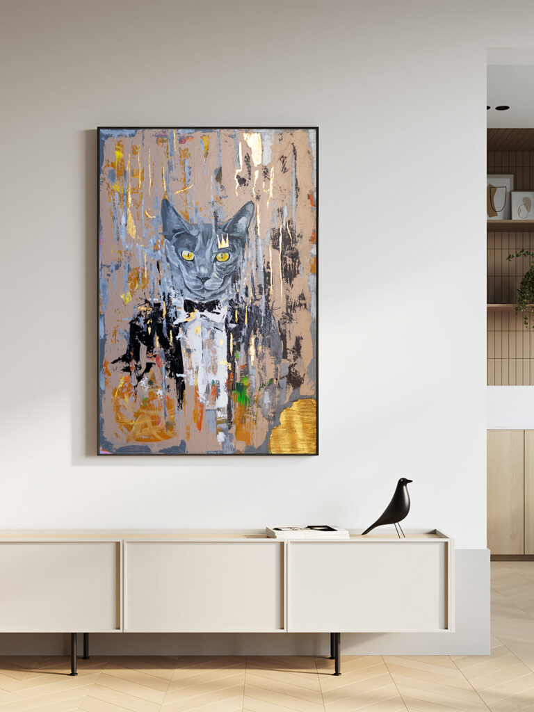 cat-painting-abstract-paintings-on-canvas