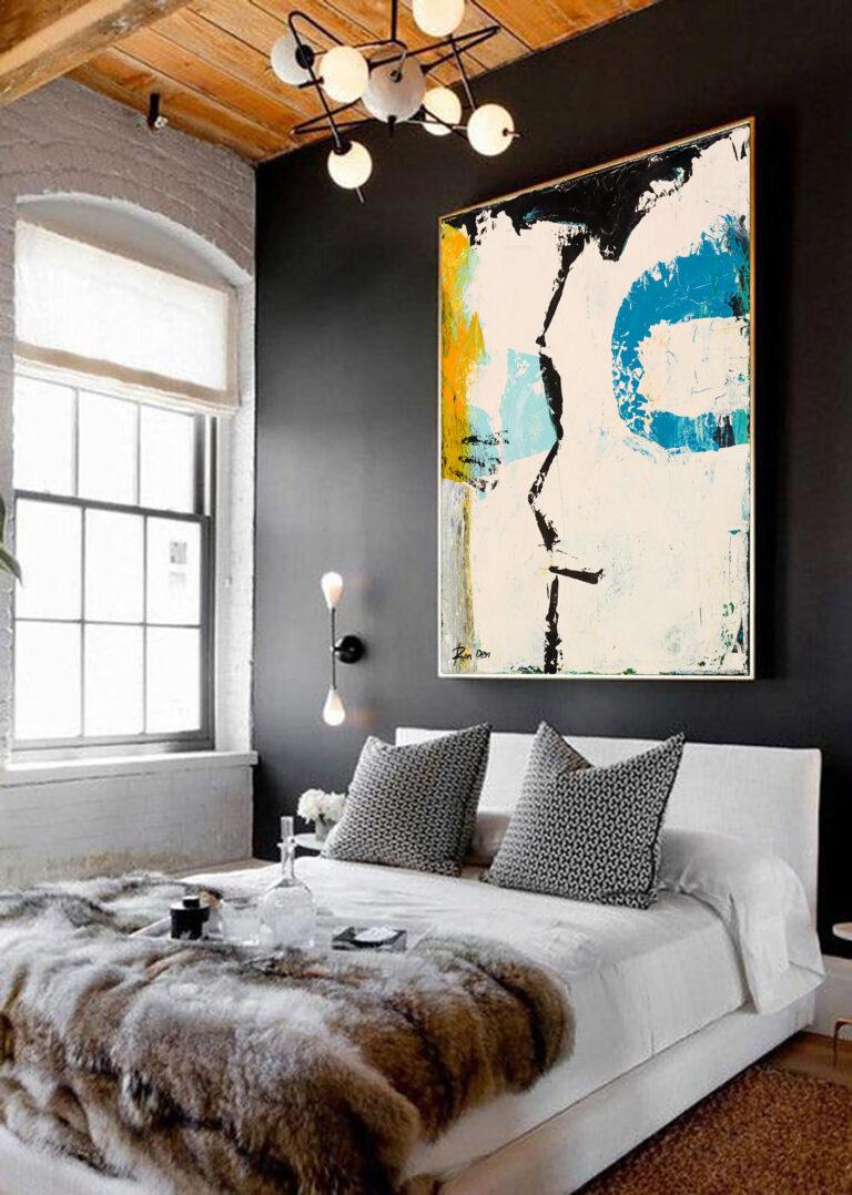 art-face-painting-abstract-modern-art-contemporary-wall-art-ron-deri