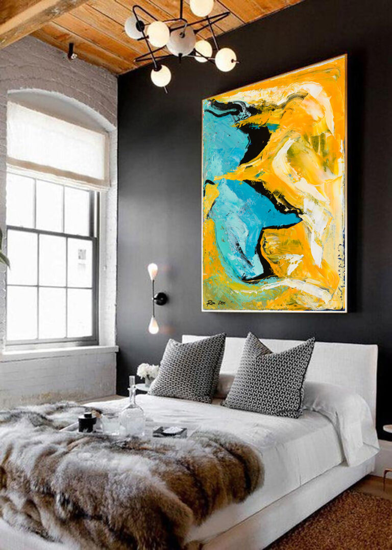 modern-colorful-abstract-livingroom-wall-art-yellow-blue-ron-deri-4